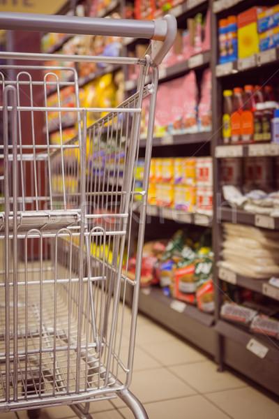 Produit plateau supermarché panier détail Photo stock © wavebreak_media