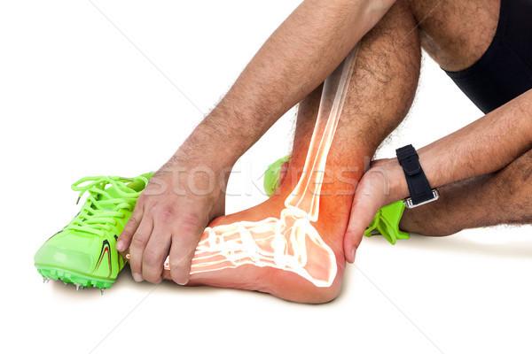 Em ossos ferido homem branco composição digital Foto stock © wavebreak_media