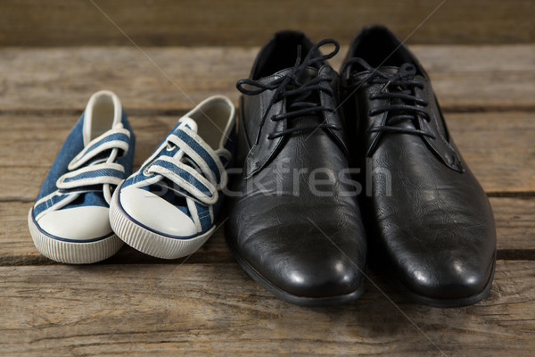 Close up of shoes on table Stock photo © wavebreak_media