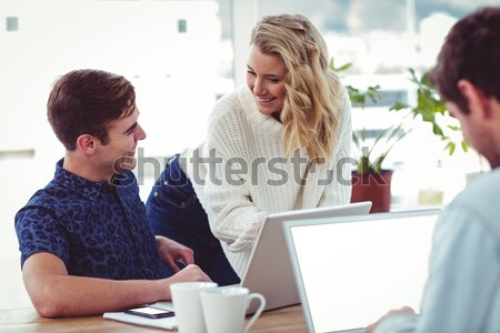 Senior couple using laptop Stock photo © wavebreak_media