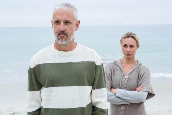 Woman angry at her partner Stock photo © wavebreak_media