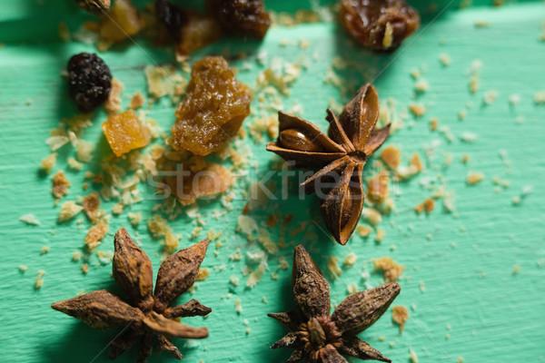 Close up of spice on table Stock photo © wavebreak_media