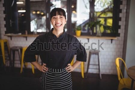 肖像 女性 立って 眼鏡 陶器 ワークショップ ストックフォト © wavebreak_media