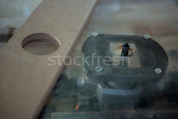Image of a carpenters machine Stock photo © wavebreak_media