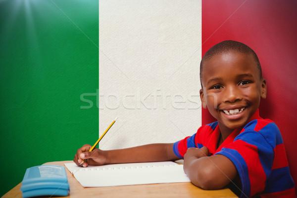 Görüntü mutlu büro eller çocuk Stok fotoğraf © wavebreak_media
