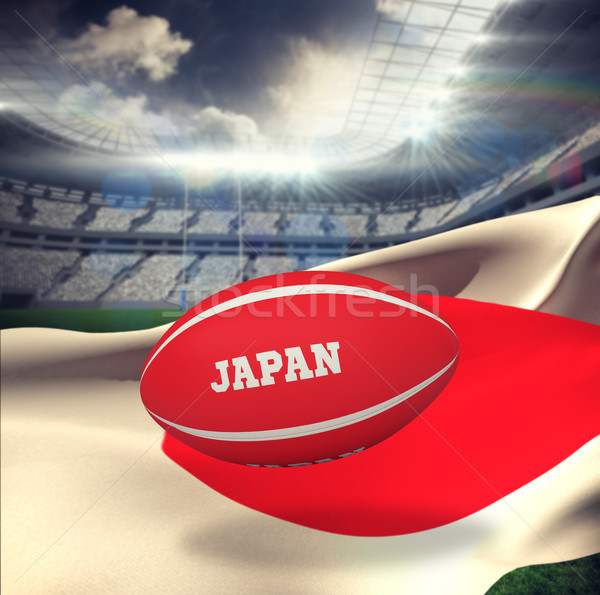 Imagem Japão rugby estádio Foto stock © wavebreak_media