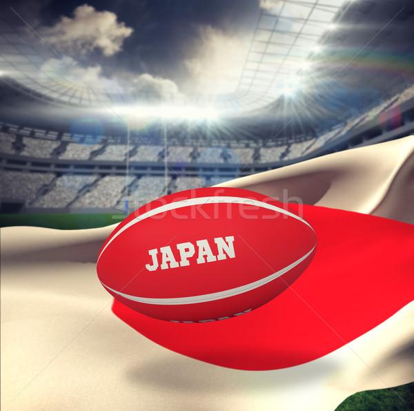 Imagen Japón pelota de rugby rugby estadio Foto stock © wavebreak_media