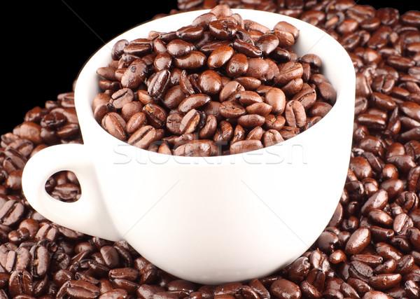 Morning coffee with Beans  Stock photo © wavebreak_media