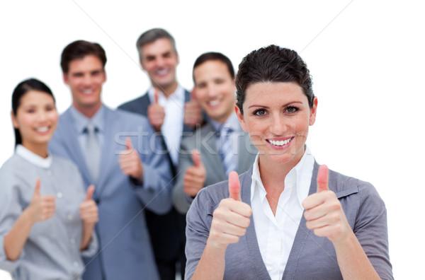 Diverso equipo de negocios blanco mujer oficina Foto stock © wavebreak_media