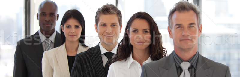 Male CEO Leading a team  Stock photo © wavebreak_media
