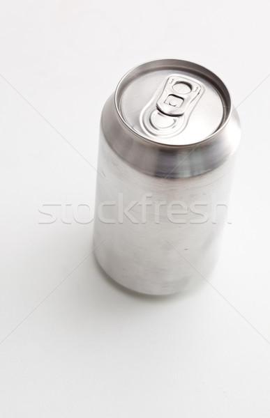 Ver fechado lata branco Foto stock © wavebreak_media