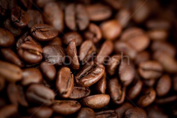 Donkere wazig koffie zaden uit Stockfoto © wavebreak_media