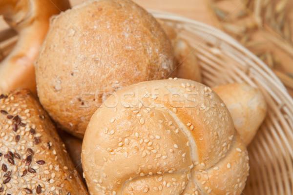 Multigrain bread lying in basket  Stock photo © wavebreak_media