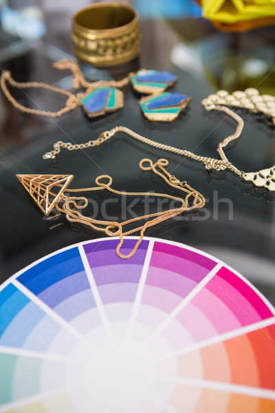 Color adornos diseno Foto stock © wavebreak_media