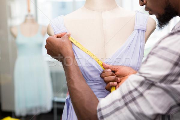 Erkek moda tasarımcı manken çalışma Stok fotoğraf © wavebreak_media
