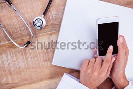 Composite image of medical app Stock photo © wavebreak_media