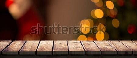 Composite image of a brown parquet Stock photo © wavebreak_media