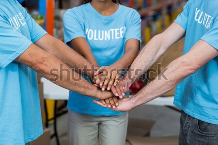 Physiotherapist giving hand massage to a girl patient Stock photo © wavebreak_media