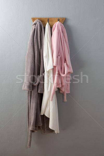 Enforcamento gancho parede tecido férias pano Foto stock © wavebreak_media