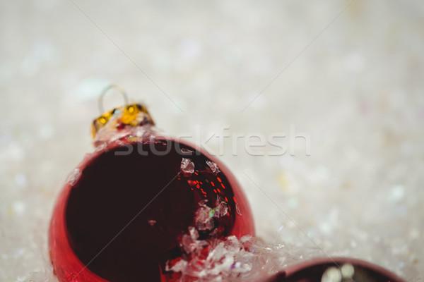 Рождества снега время домой весело Сток-фото © wavebreak_media
