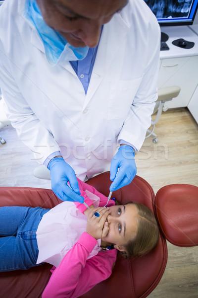 Jeunes patient peur dentaires homme enfant Photo stock © wavebreak_media