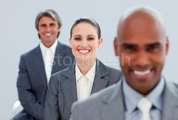 Business partner piedi line donna ufficio squadra Foto d'archivio © wavebreak_media