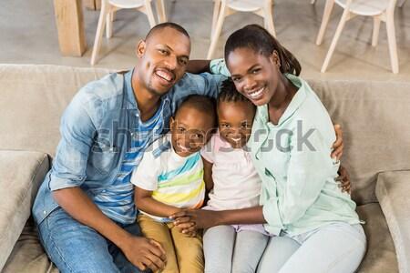 Portrait of a happy Afro-american family Stock photo © wavebreak_media