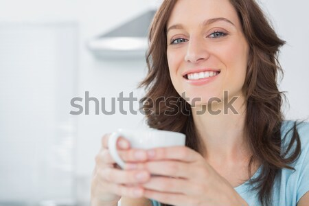 еды злаки улыбка счастливым здоровья Сток-фото © wavebreak_media