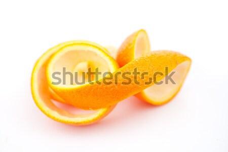 Naranja blanco frutas beber comer azúcar Foto stock © wavebreak_media