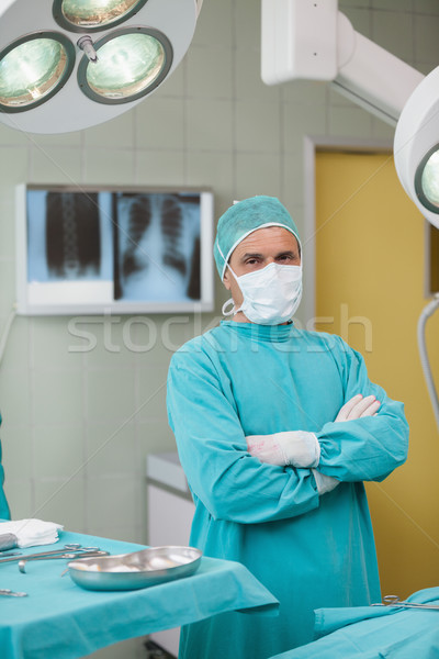 Serious surgeonarms crossed in operating theater Stock photo © wavebreak_media