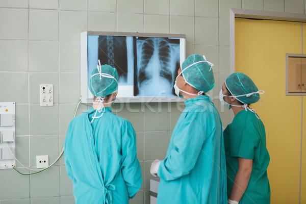 Medycznych zespołu xray teatr zdrowia Zdjęcia stock © wavebreak_media