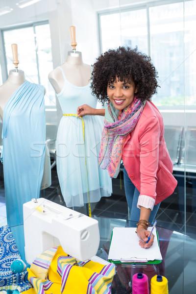Female fashion designer at work Stock photo © wavebreak_media