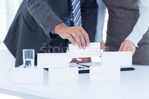 Gente de negocios edificio estructura oficina mujer Foto stock © wavebreak_media