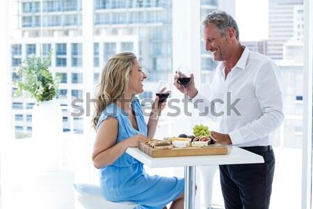 Affaires collègues argument bureau femme Photo stock © wavebreak_media