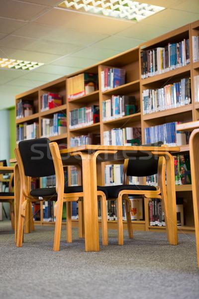 книгах книжная полка библиотека университета книга школы Сток-фото © wavebreak_media