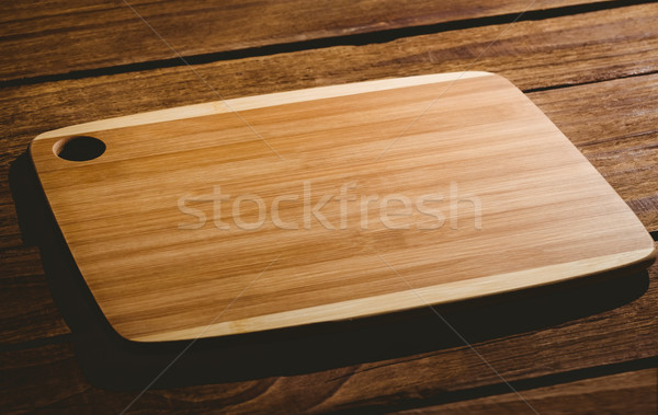 Wooden chopping board Stock photo © wavebreak_media