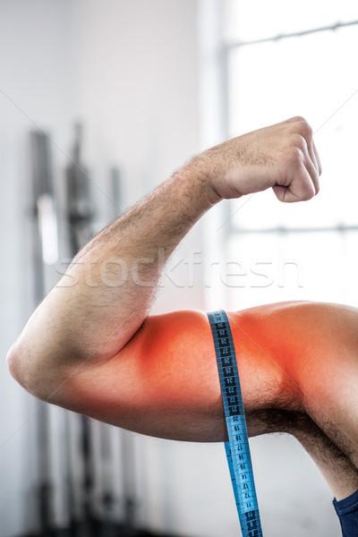 Ramię człowiek biceps digital composite Zdjęcia stock © wavebreak_media