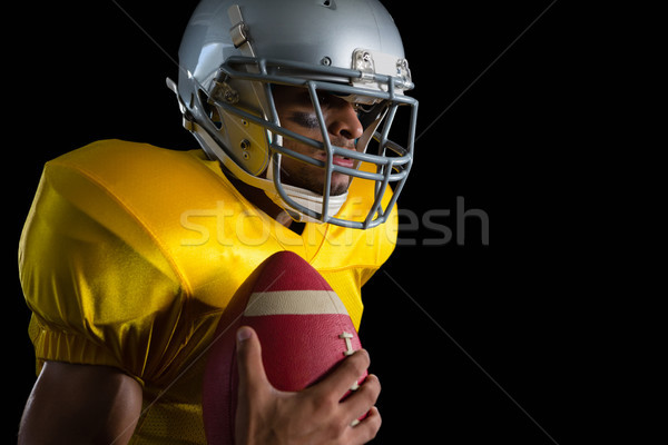 Americano futbolista pelota negro hombre Foto stock © wavebreak_media