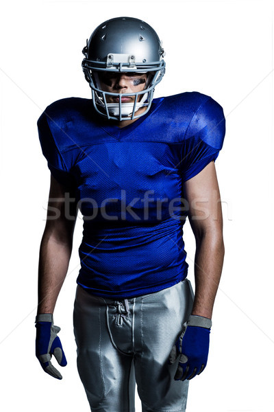 American football player standing Stock photo © wavebreak_media