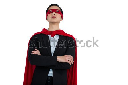 Woman pretending to be a super hero Stock photo © wavebreak_media
