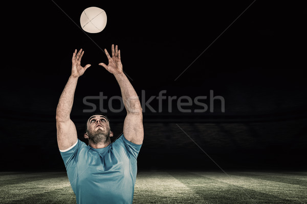 изображение регби игрок мяча футбола Сток-фото © wavebreak_media