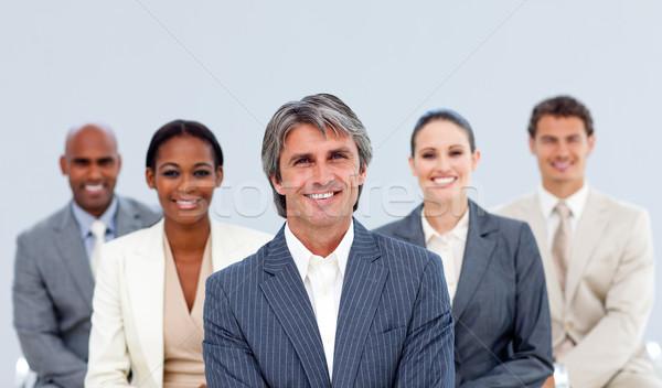 Portrait of an assertive business team Stock photo © wavebreak_media