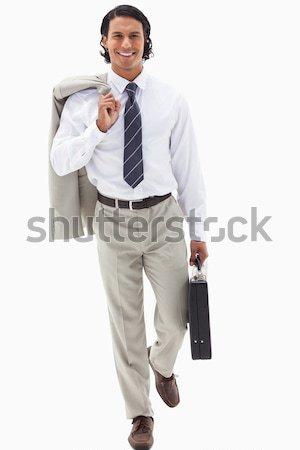 портрет бизнесмен работу белый моде работник Сток-фото © wavebreak_media