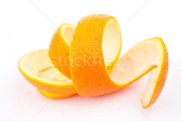 Naranja blanco frutas beber comer Foto stock © wavebreak_media