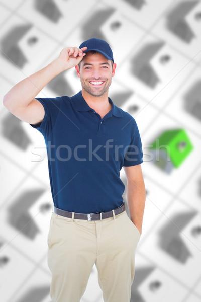 Afbeelding portret gelukkig Stockfoto © wavebreak_media