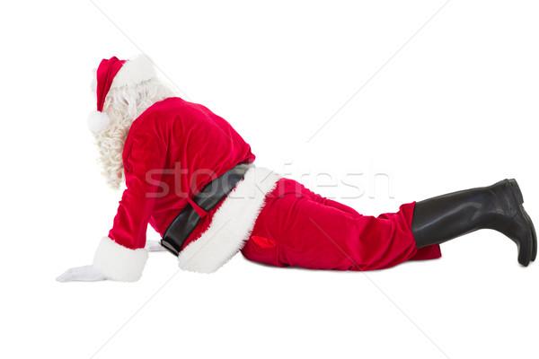 Santa claus in cobra pose Stock photo © wavebreak_media