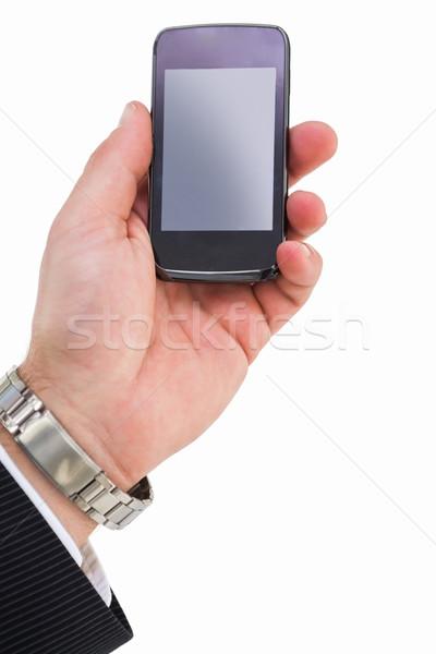 стороны мобильного телефона бизнеса Сток-фото © wavebreak_media