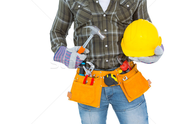 Werknemer tool gordel Stockfoto © wavebreak_media