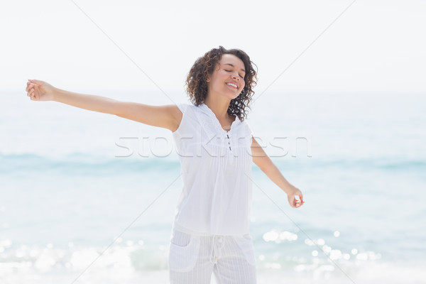 happy woman smiling Stock photo © wavebreak_media
