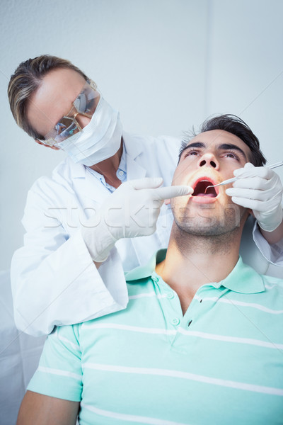 女性 歯科 調べる 歯 歯科医 椅子 ストックフォト © wavebreak_media